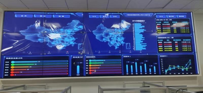 江西科技学院55寸液晶拼接屏